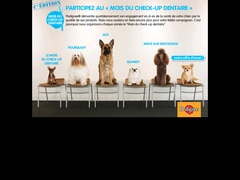 Pedigree offre un echantillon de dentastix