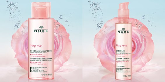 Nuxe gamme Very Rose